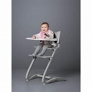 Chaise Haute Bébé Design : tablette chaise haute blanc leander design b b ~ Teatrodelosmanantiales.com Idées de Décoration