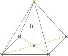 pyramide grundfläche schrägbilder pyramiden und zusammengesetzten körpern mathematik lernen
