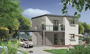 faire construire une maison cubique e constructeurs With faire construire une maison prix