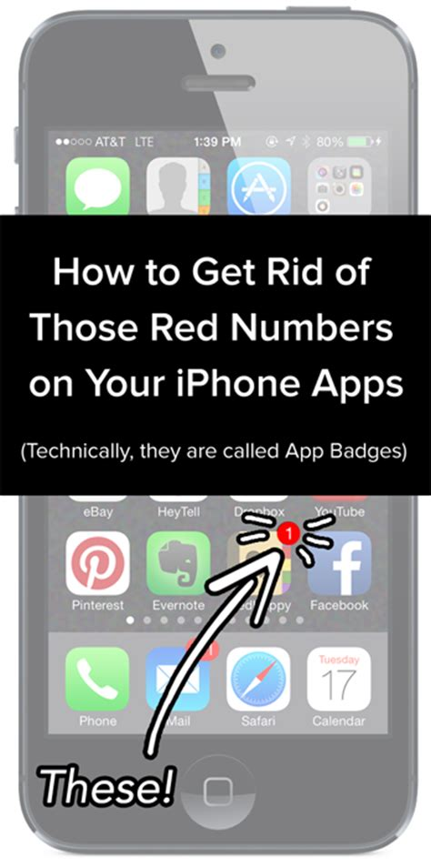 how to use numbers on iphone how to get rid of those red numbers on your iphone apps How T