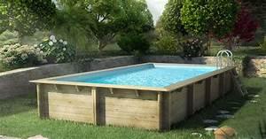 Piscine Hors Sol Metal : piscine hors sol metal aspect bois ~ Dailycaller-alerts.com Idées de Décoration