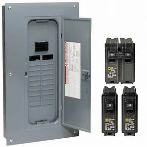Square D Hom2040m100pcvp 100 Amp Homeline Main Breaker