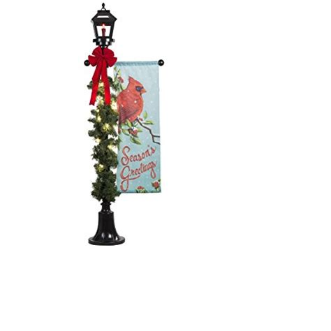 ft holiday lighted lamp post outdoor christmas