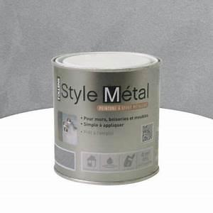 Peinture A Effet Metal : peinture effet m tallis acier 500ml castorama ~ Dailycaller-alerts.com Idées de Décoration