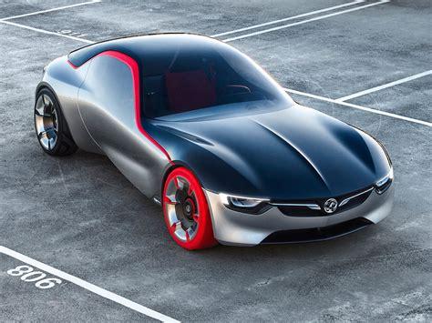 opel car opel gt concept car body design