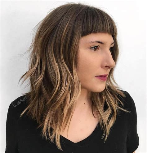hair style style 25 best ideas about blunt bangs on bob 7119