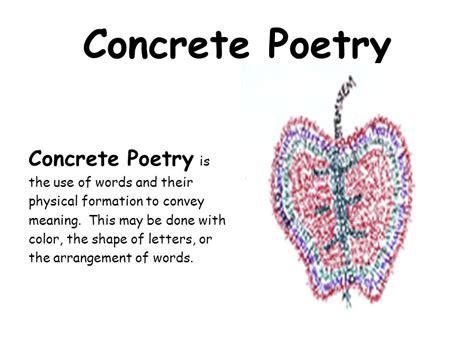 concrete poetry concrete poetry     words