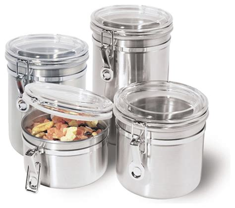 kitchen canisters and jars stainless steel kitchen storage container kitchen
