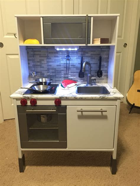 ikea duktig play kitchen hack   kitchen ikea