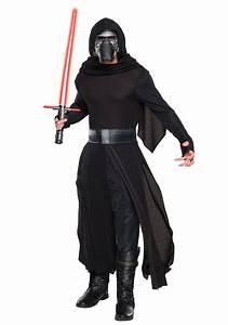 Adult Deluxe Star Wars The Force Awakens Kylo Ren Villain ...