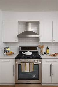 Stove Hood With Fan And Light Exhaust Hood With Soffit Google Search Contemporary