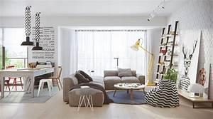 style scandinave moderne pour une maison vivante deco With meuble de salle a manger avec tableau deco style scandinave