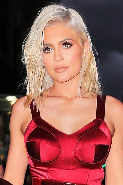 Blonde Hair Platinum Kylie Jenner Colors Summer