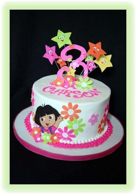 dora  explorer  cake central koeke dora cake