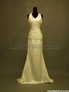 column simple halter beach wedding dress in cheap 2341st With simple beach wedding dresses cheap