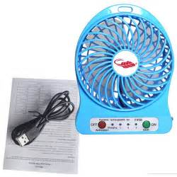 f95b portable mini usb fan rechargeable battery operated w