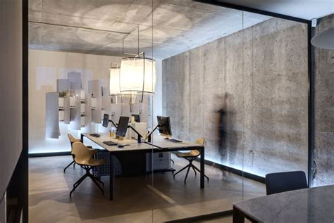 design studio materia  office space interiorzine