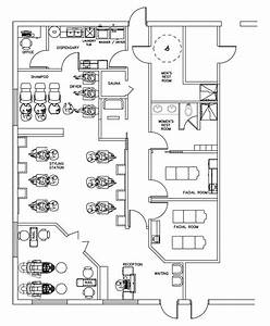 beauty salon floor plan design layout 1700 square foot With hair salon floor plans download