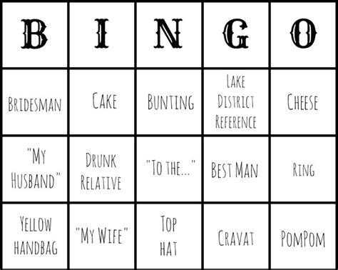 Best 25+ Wedding Bingo Ideas On Pinterest