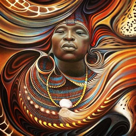The Gallery For --> African King And Queen Art