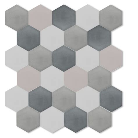 gray hex tile cle cement hex tiles2 floored pinterest tiles for bathrooms grey and hexagons