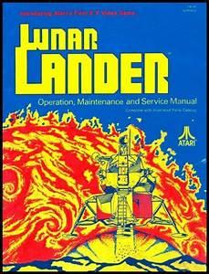 Lunar Lander Arcade Video Game Full Service  U0026 Repair