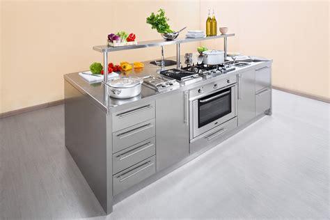 cucine acciaio work station arca cucine italia cucine in acciaio inox