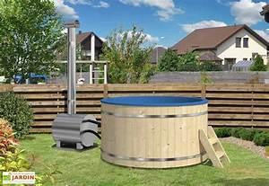 Spa Bois Exterieur : spa d 39 ext rieur avec po le bois externe 170 ou 200 ~ Premium-room.com Idées de Décoration