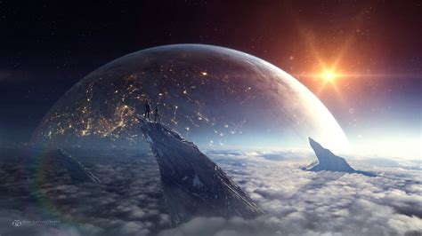 planet rise hd wallpaper background image 2560x1440 planet rise hd wallpaper background image 2560x1440