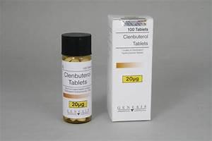 Clenbuterol Tabletten 20mcg  100 Tab