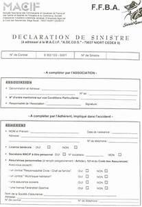 Lettre Declaration Sinistre : photo modele declaration n de sinistre ~ Gottalentnigeria.com Avis de Voitures