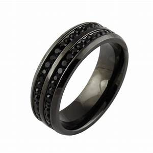 Rings for men wedding rings for men for Black wedding rings for men