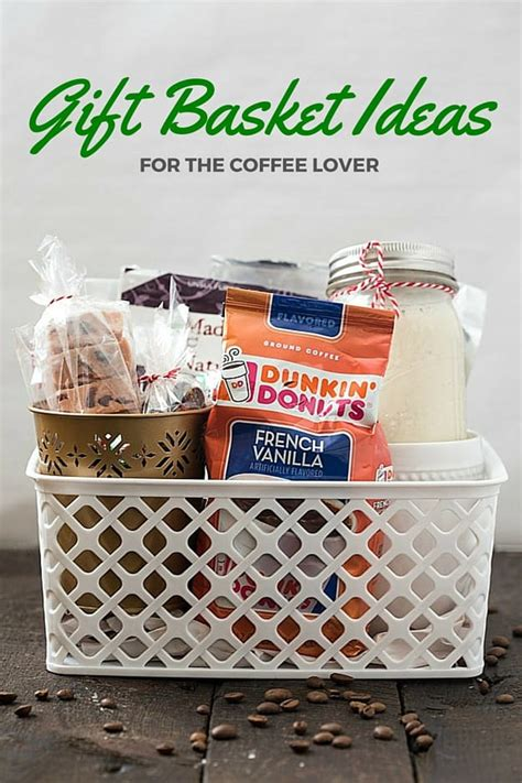 Design it yourself gift baskets. Gift Basket Ideas for the Coffee Lover - Gal on a Mission
