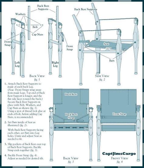 campaign chair plans campaign furniture campaign
