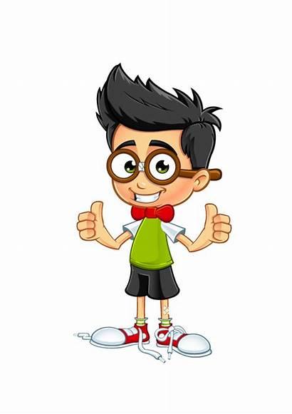 Boy Clipart Nerdy Grade 7th Nerd Animated