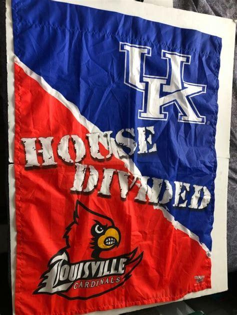 House Divided Louisville Cardinals & Kentucky Wildcats ...