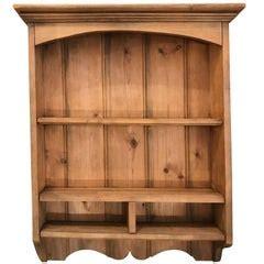 french iron  oak wall shelves  sale  stdibs