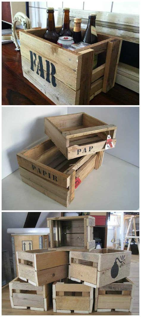 wooden boxes   pallet wood  pallets