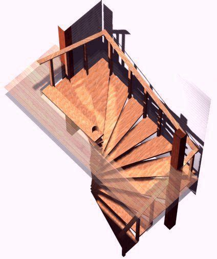 spiral stair plans spiral stairs crafted  wood