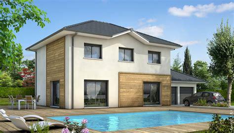 maison en l moderne maison familiale mont blanc plan maison gratuit
