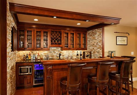 Building A Bar In The Basement by Basement Bar Images Contemporary How To Build A With 17