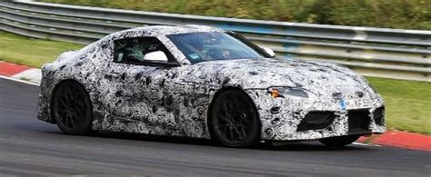 2019 Toyota Supra Spied On Nurburgring, Almost Ready For