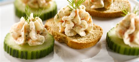 mousse de canape smoked salmon mousse canapes recipe dairy goodness