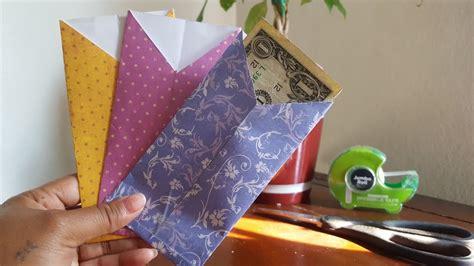 envelopes paper cash diy