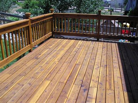choose the right deck stain the practical house painting