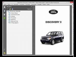 Land Rover Discovery 3 - Service Manual