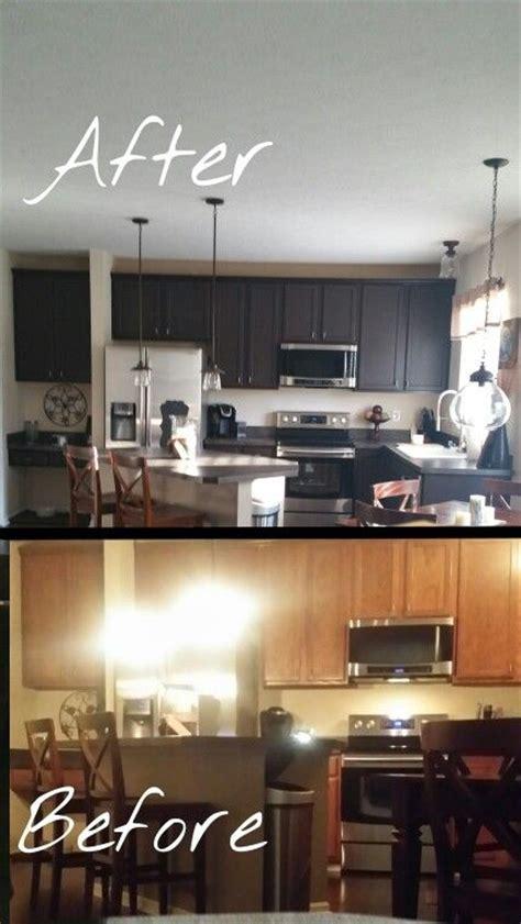 kitchen rustoleum cabinet transformation kit