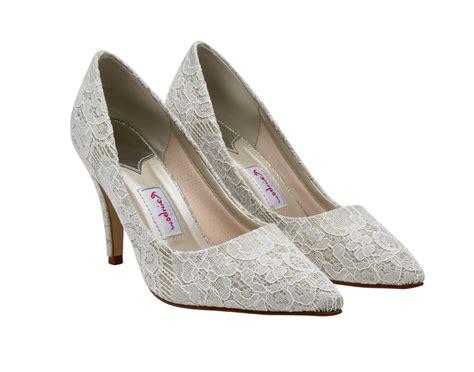 rainbow club giverney bridal shoes uk  wedding