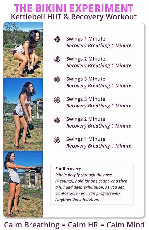 kettlebell hiit workout workouts cardio beginners