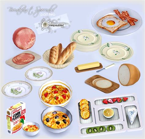 cuisine sims 3 my sims 3 breakfast specials part 2 by simcredible